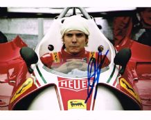 Daniel Bruhl Autograph Signed Photo - Rush